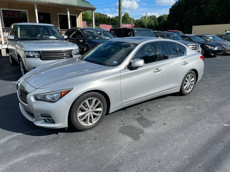 2015 Infiniti Q50 for sale at Luxury Auto Innovations in Flowery Branch GA