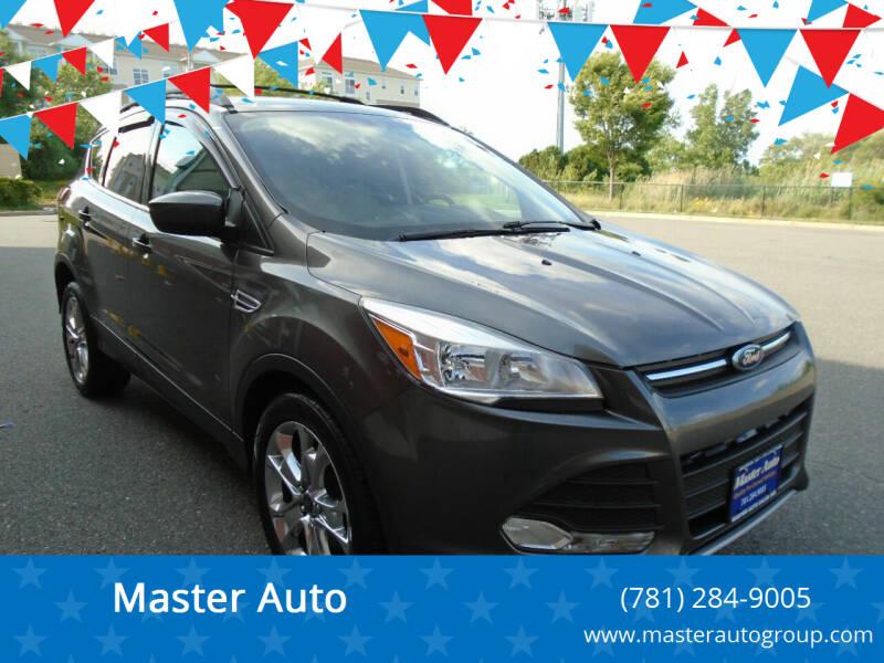 2015 Ford Escape for sale at Master Auto in Revere MA