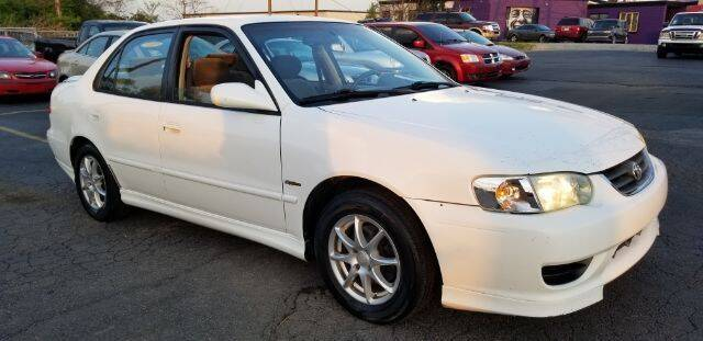 2002 Toyota Corolla for sale at Tri City Auto Mart in Lexington KY