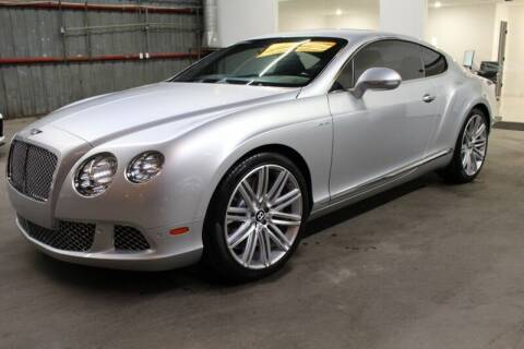 2013 Bentley Continental for sale at ESPI Motors in Houston TX