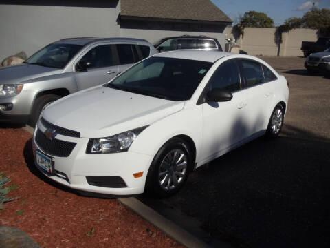 2011 Chevrolet Cruze for sale at Metro Motor Sales in Minneapolis MN