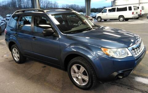 2012 Subaru Forester for sale at Angelo's Auto Sales in Lowellville OH