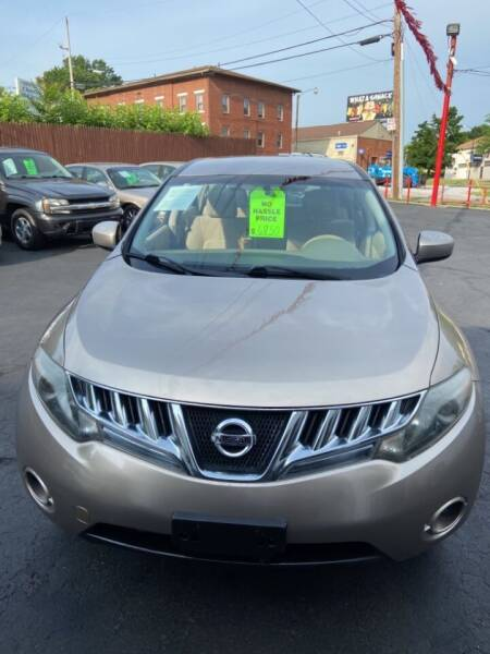 2009 Nissan Murano for sale at North Hill Auto Sales in Akron OH