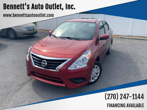 2017 Nissan Versa for sale at Bennett's Auto Outlet, Inc. in Mayfield KY