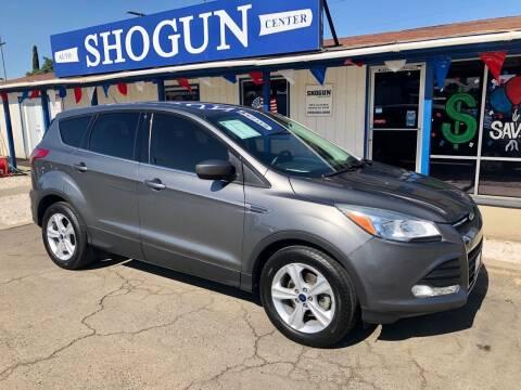 2014 Ford Escape for sale at Shogun Auto Center in Hanford CA