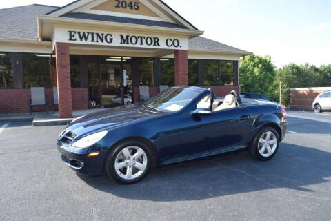 2006 Mercedes-Benz SLK for sale at Ewing Motor Company in Buford GA
