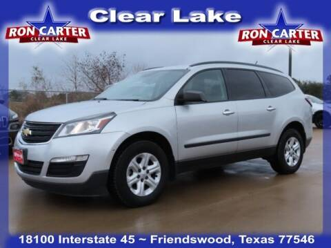2015 Chevrolet Traverse for sale at Ron Carter  Clear Lake Used Cars in Houston TX