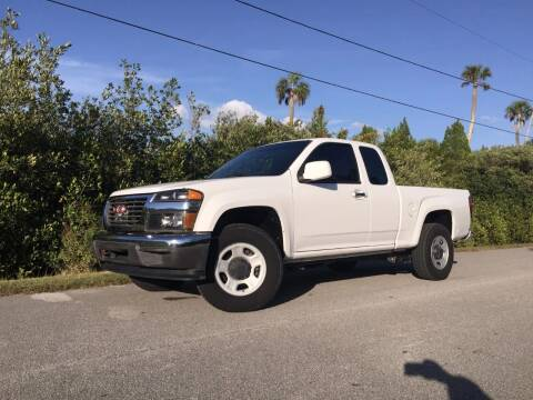 2012 GMC Canyon for sale at VICTORY LANE AUTO SALES in Port Richey FL