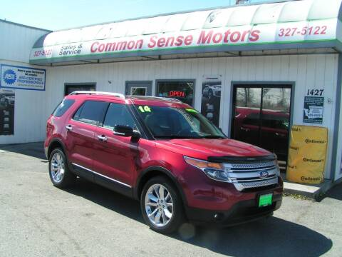 2014 Ford Explorer for sale at Common Sense Motors in Spokane WA