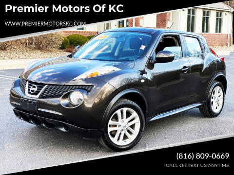2013 Nissan JUKE for sale at Premier Motors of KC in Kansas City MO