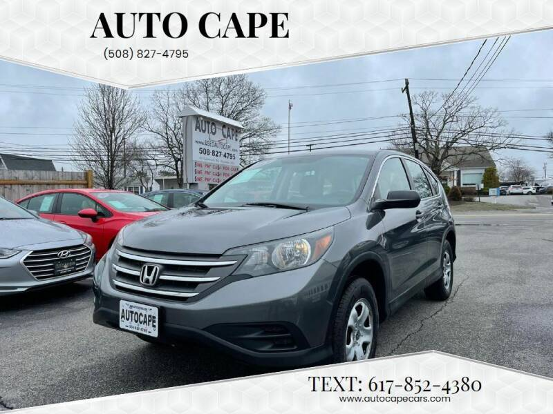 2013 Honda CR-V for sale at Auto Cape in Hyannis MA