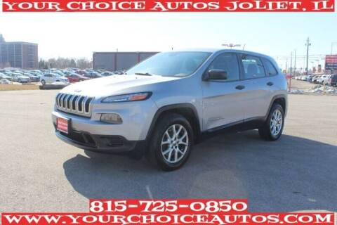 2015 Jeep Cherokee for sale at Your Choice Autos - Joliet in Joliet IL