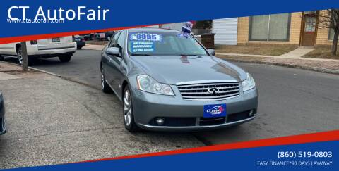 2007 Infiniti M35 for sale at CT AutoFair in West Hartford CT