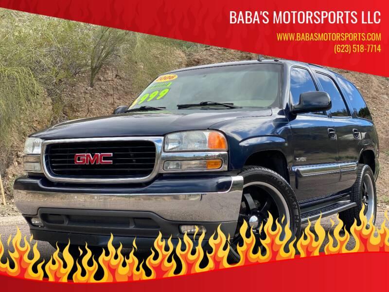 2006 GMC Yukon for sale at Baba's Motorsports, LLC in Phoenix AZ