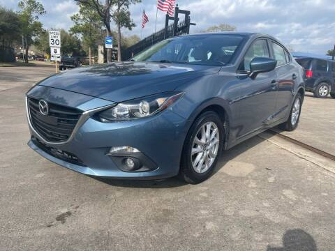 2015 Mazda MAZDA3 for sale at Newsed Auto in Houston TX