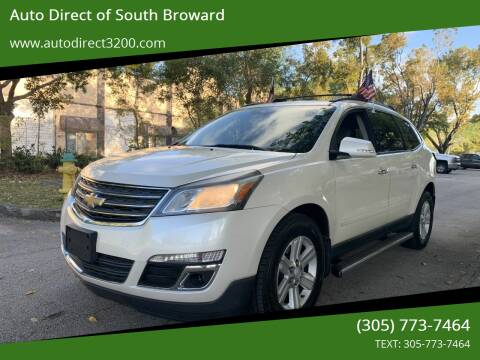 2013 Chevrolet Traverse for sale at Auto Direct of South Broward in Miramar FL