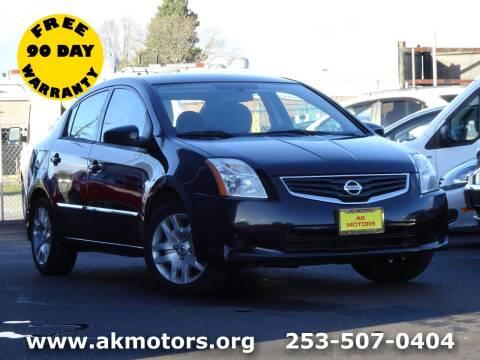 2012 Nissan Sentra for sale at AK Motors in Tacoma WA