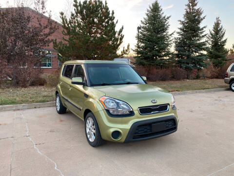 2012 Kia Soul for sale at QUEST MOTORS in Englewood CO