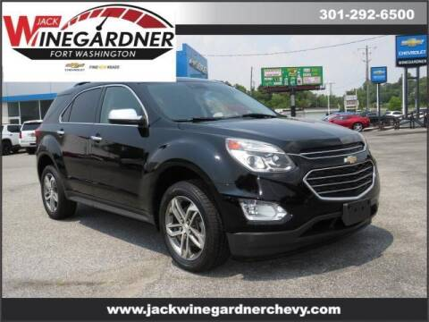 2016 Chevrolet Equinox for sale at Winegardner Auto Sales in Prince Frederick MD