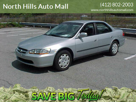1999 Honda Accord for sale at North Hills Auto Mall in Pittsburgh PA