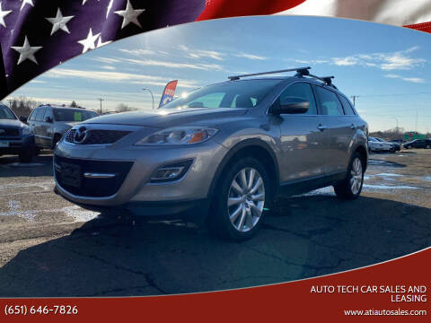2010 Mazda CX-9 for sale at Auto Tech Car Sales and Leasing in Saint Paul MN