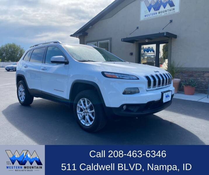 2014 Jeep Cherokee for sale at Western Mountain Bus & Auto Sales in Nampa ID
