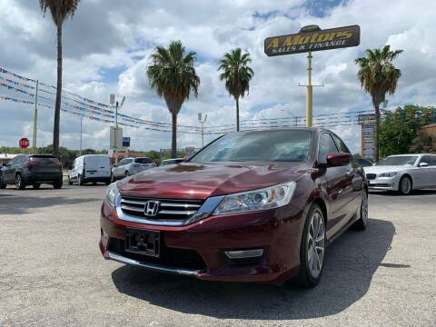2013 Honda Accord for sale at A MOTORS SALES AND FINANCE in San Antonio TX