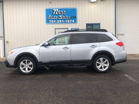 2014 Subaru Outback for sale at NESS AUTO SALES in West Fargo ND