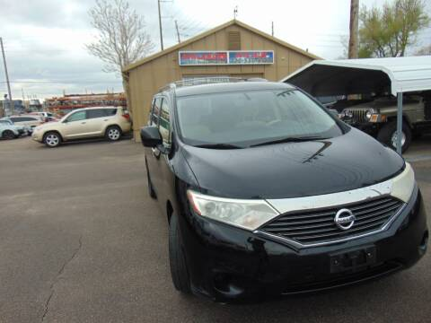 2012 Nissan Quest for sale at Avalanche Auto Sales in Denver CO
