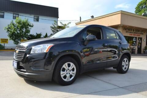 2015 Chevrolet Trax for sale at Father and Son Auto Lynbrook in Lynbrook NY