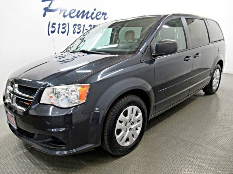 2014 Dodge Grand Caravan for sale at Premier Automotive Group in Milford OH