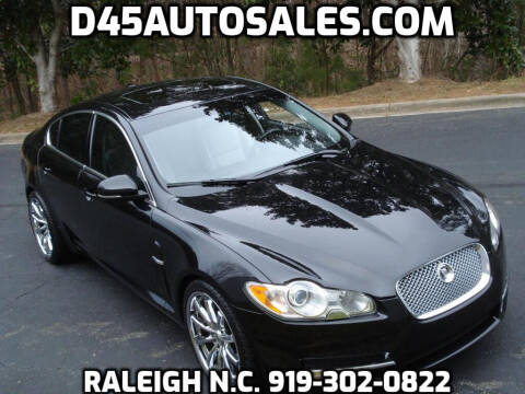 2010 Jaguar XF for sale at D45 Auto Brokers in Raleigh NC