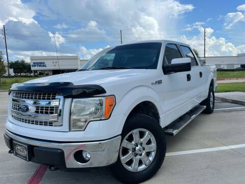 2014 Ford F-150 for sale at TWIN CITY MOTORS in Houston TX