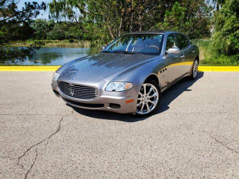 2006 Maserati Quattroporte for sale at Excalibur Auto Sales in Palatine IL
