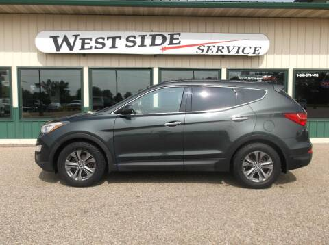 2013 Hyundai Santa Fe Sport for sale at West Side Service in Auburndale WI