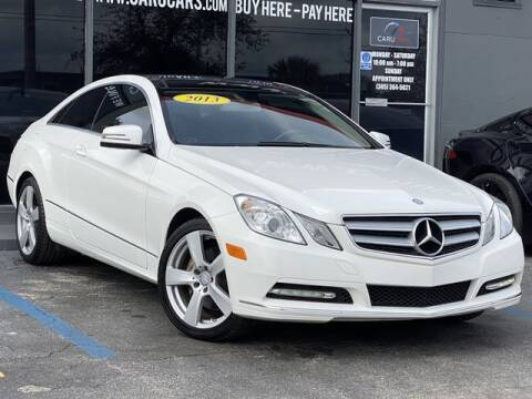 2013 Mercedes-Benz E-Class for sale at CARUCARS LLC in Miami FL