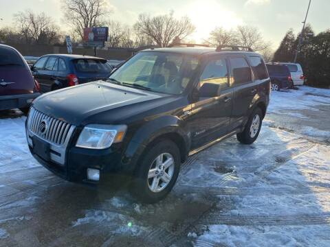 2008 Mercury Mariner Hybrid for sale at Downers Grove Motor Sales in Downers Grove IL