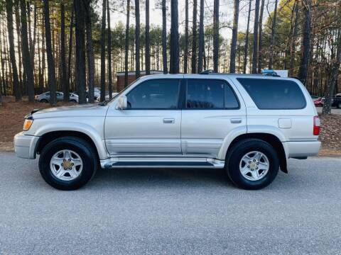 2000 Toyota 4Runner for sale at H&C Auto in Oilville VA