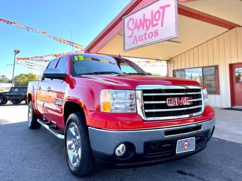 2013 GMC Sierra 1500 for sale at Sandlot Autos in Tyler TX