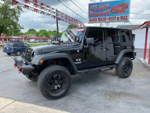 2008 Jeep Wrangler Unlimited for sale at D. C.  Autos in Huntsville AL
