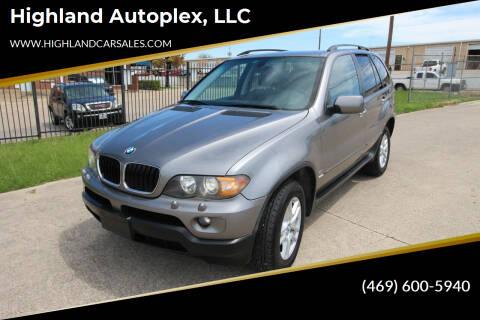 2006 BMW X5 for sale at Highland Autoplex, LLC in Dallas TX
