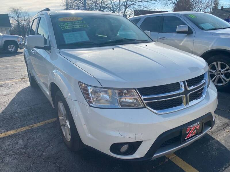 2012 Dodge Journey for sale at Zs Auto Sales in Kenosha WI