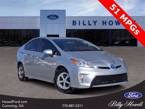 2012 Toyota Prius for sale at BILLY HOWELL FORD LINCOLN in Cumming GA