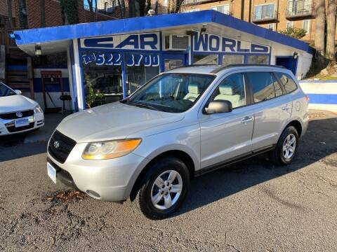 2009 Hyundai Santa Fe for sale at Car World Inc in Arlington VA
