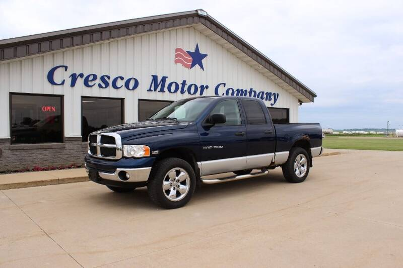 2003 Dodge Ram Pickup 1500 for sale at Cresco Motor Company in Cresco IA