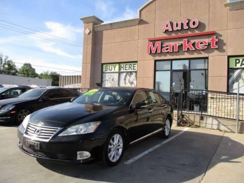 2011 Lexus ES 350 for sale at Auto Market in Oklahoma City OK