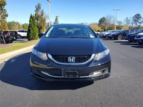 2015 Honda Civic for sale at Southern Auto Solutions - Georgia Car Finder - Southern Auto Solutions - Lou Sobh Honda in Marietta GA