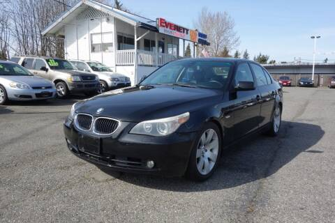 2004 BMW 5 Series for sale at Leavitt Auto Sales and Used Car City in Everett WA