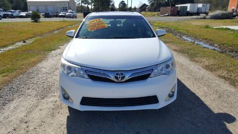 2014 Toyota Camry for sale at Auto Guarantee, LLC in Eunice LA