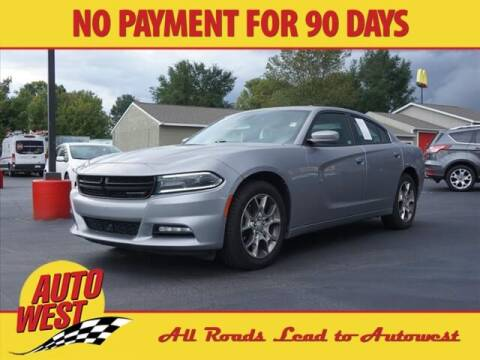 2016 Dodge Charger for sale at Autowest of Plainwell in Plainwell MI
